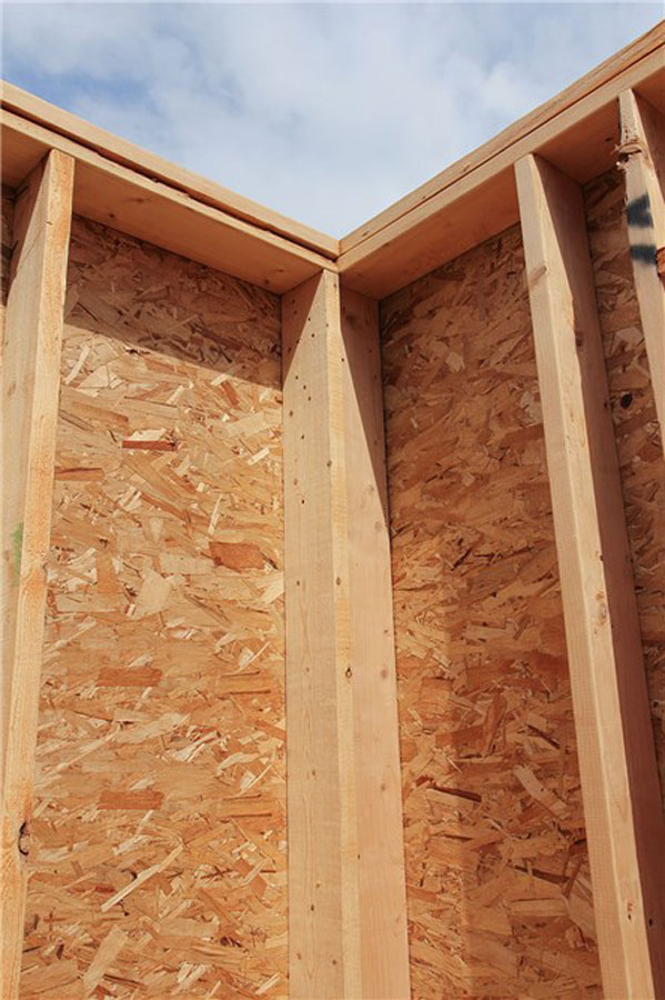 The best way to frame less wood more thought protradecraft for Engineered wood framing