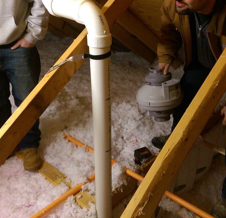 How To Install A Radon Mitigation System In A New Home