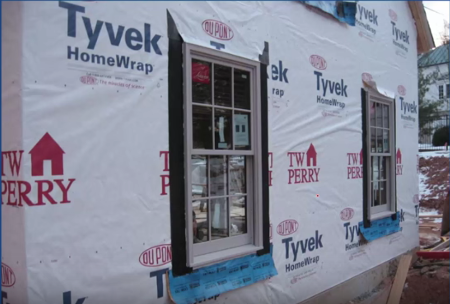How To Install House Wrap Therightway Protradecraft