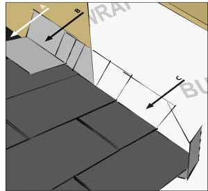 Kickout flashing keeps water out of walls protradecraft for How to roof a house step by step