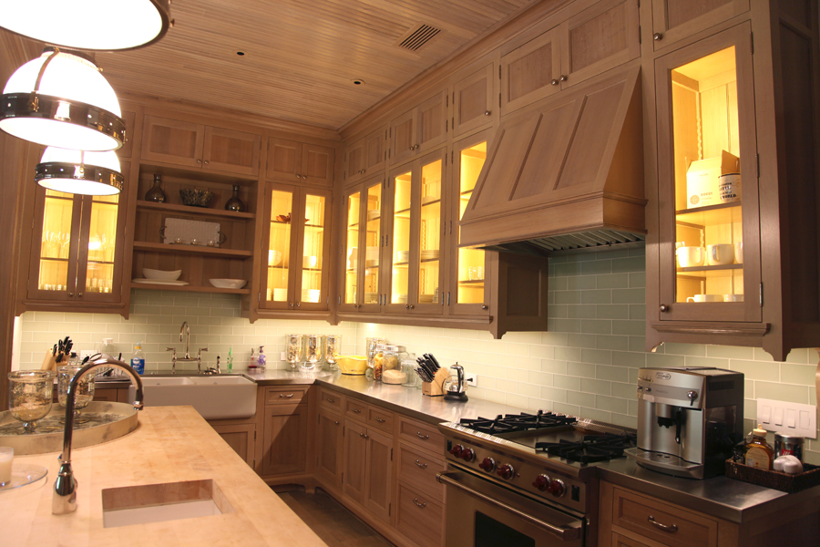Texas Decor Rearranging The Tops Of My Kitchen Cabinets: Custom White Oak Kitchen Worth Writing Home About