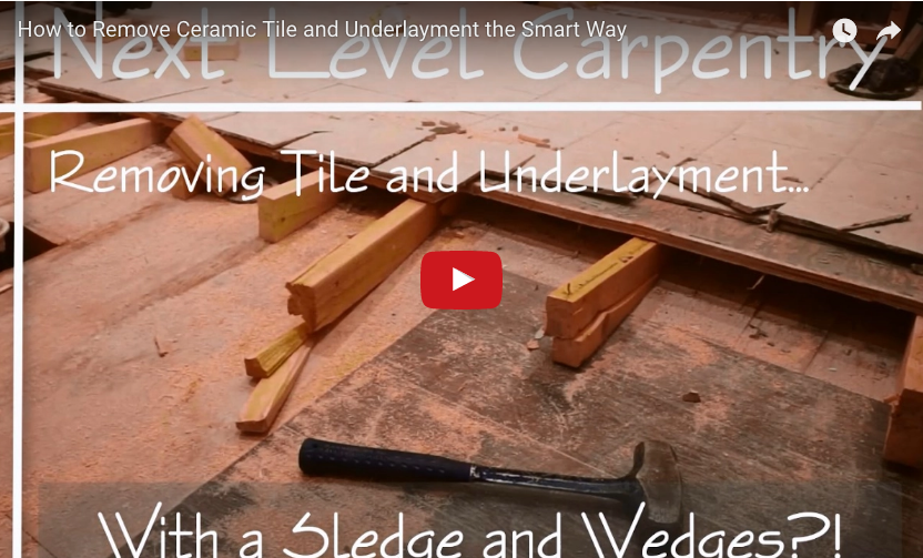 How To Remove A Really Difficult Subfloor Protradecraft