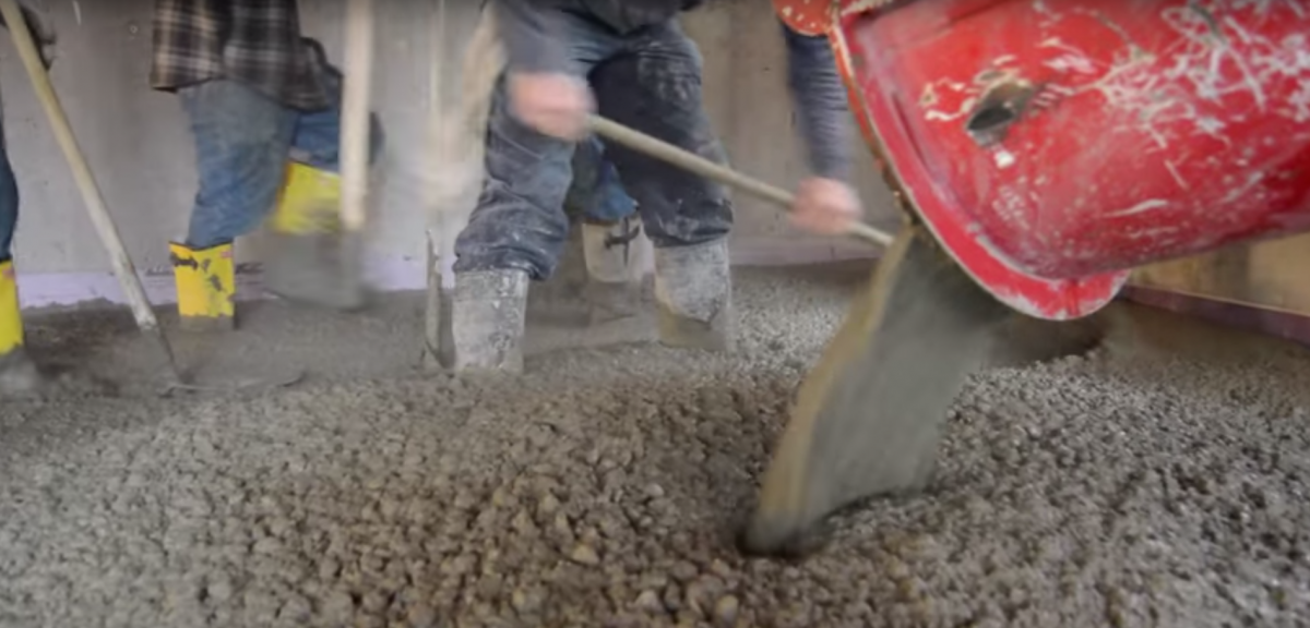 How A Concrete Slab Transforms From Mud To Stone