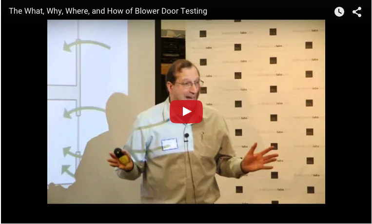 The What Why Where And How Of Blower Door Testing