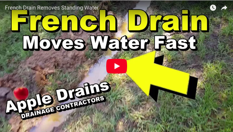 Installing A French Drain In Backyard install a french drain that winds its way to daylight | protradecraft