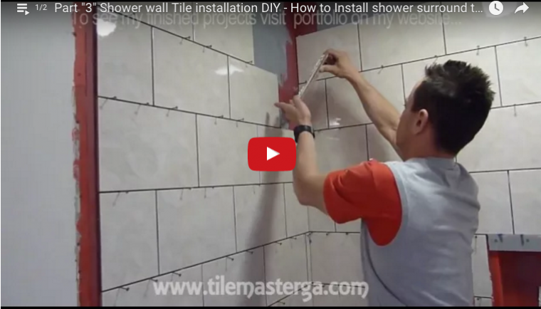 How To Install Tile In A Tub Or Shower Surround Protradecraft
