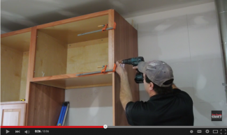 Cabinet installation tips video thumbnail