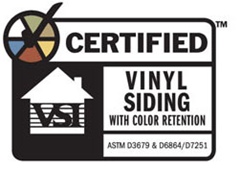 Vinyl color retention label