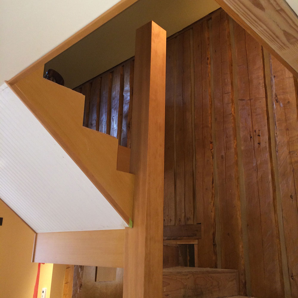 Stair Trim-Out (4)—Wrapping A Tall Post In Place