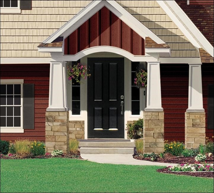 Builders don t use vertical siding as much as they should for Vertical house siding pictures